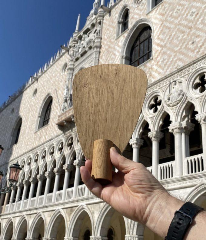 ventaglio in legno